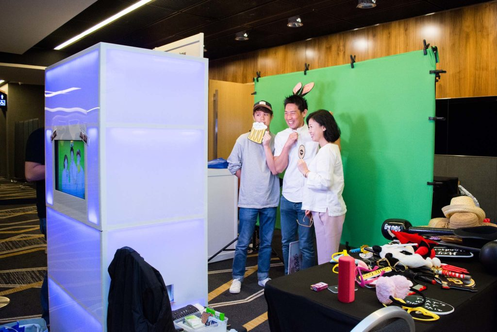 Green Screen Photo Booth in Singapore