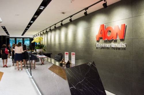 Corporate event at AON