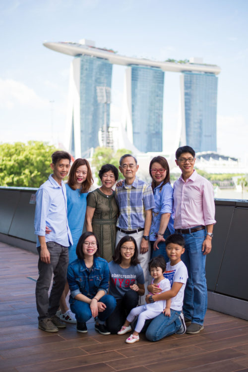 Family shoot at MBS