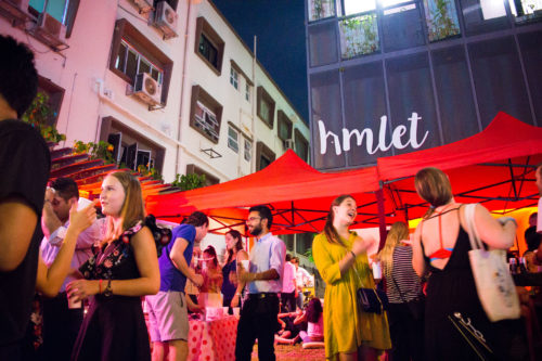 Nightlife photography of hmlet event