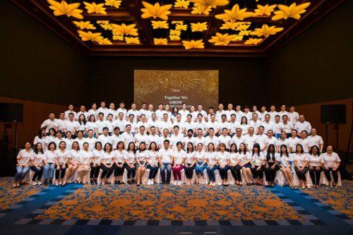 Corporate company event photograph
